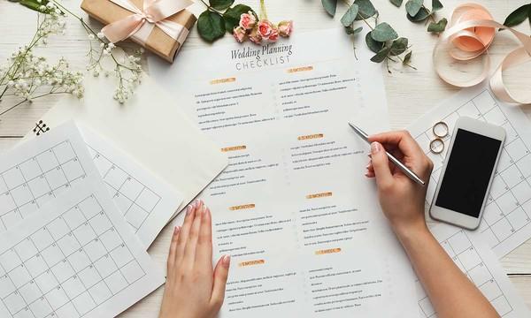 婚禮籌備流程及時間表