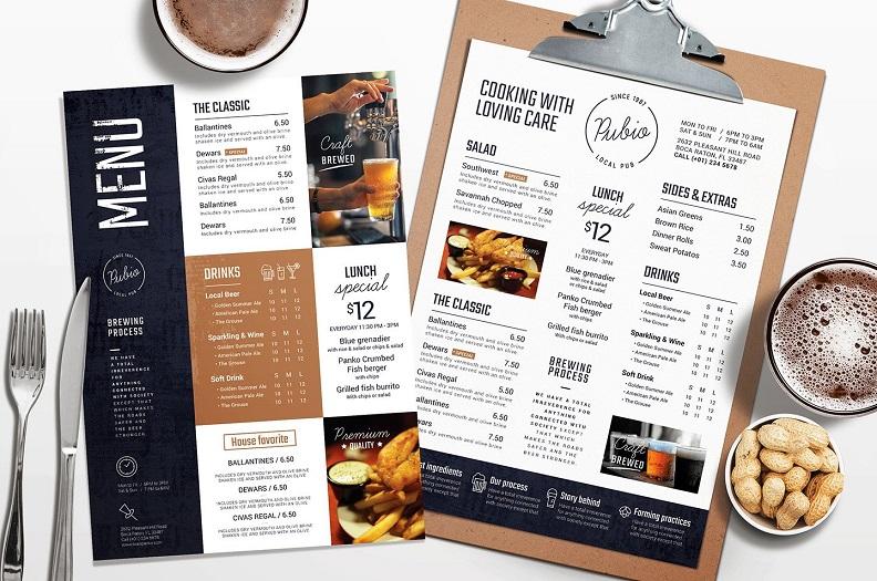 餐牌的方案策劃設計方案關鍵點